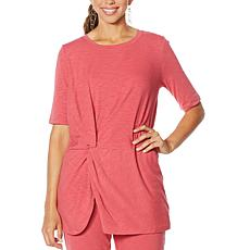 """""""As Is"""" ModernSoul® Twist-Front Tunic"""