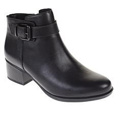 """As Is"" Naturalizer Dora Leather Ankle Bootie"