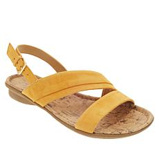 """""""As Is"""" Naturalizer Wyn Leather Sandal"""