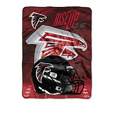 """As Is"" Officially Licensed NFL 60"" x 80"" Team Pride Throw - Falcons"