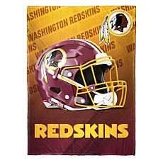 """As Is"" Officially Licensed NFL Fleece Speed Flex Throw - Redskins"