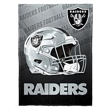 """As Is"" Officially Licensed NFL Fleece Speed Flex Throw - Raiders"