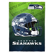 """As Is"" Officially Licensed NFL Fleece Speed Flex Throw - Seahawks"