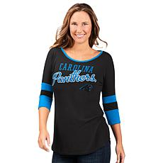 """""""As Is"""" Officially Licensed NFL Women's 3/4 Sleeve Game Changer Tee..."""