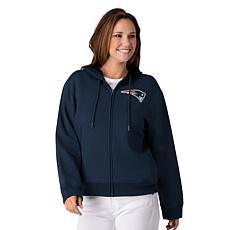 """""""As Is"""" Officially Licensed NFL Women's Full-Zip Hoodie by Glll - P..."""