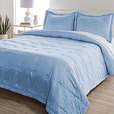 """""""As Is"""" Patricia Altschul 3-piece Scallop Quilted Coverlet Set"""