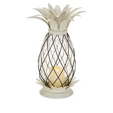 """""""As Is"""" Patricia Altschul Pineapple Lantern with LED Candle"""