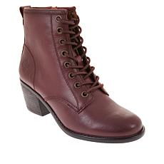 """""""As Is"""" Patricia Nash Sergio Leather Lace-Up Bootie"""