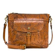 """As Is"" Patricia Nash Tuscania Leather Shoulder Bag"