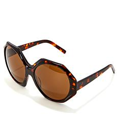 """As Is"" Rara Avis by Iris Apfel Octagonal Sunglasses"