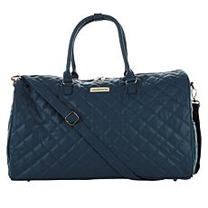 """As Is"" Samantha Brown 21"" Quilted Satchel"