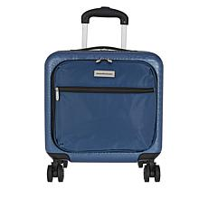 """""""As Is"""" Samantha Brown Croco-Embossed Hardside Underseat Bag"""