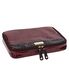 """""""As Is"""" Samantha Brown Embossed Jewelry Organizer"""