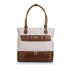 """""""As Is"""" Samantha Brown Insulated Drop Bottom Bag"""