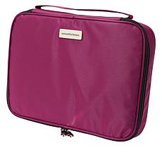 """As Is"" Samantha Brown Nylon Cosmetic Case/ Organizer"