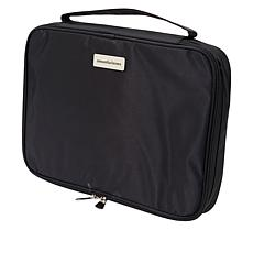"""""""As Is"""" Samantha Brown Nylon Cosmetic Case/ Organizer"""