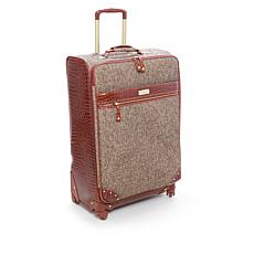 """As Is"" Samantha Brown Tweed 26"" Upright Spinner"