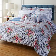 """""""As Is"""" Sara B. Spring Breeze 10-piece Comforter Set"""