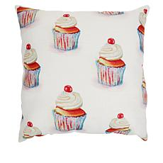 """""""As Is"""" Sewing Down South Party Time 20"""" x 20"""" Pillow"""