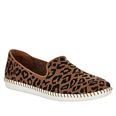 """As Is"" Skechers Cleo Stitch St. Tropez Leopard Slip-On Sneaker"
