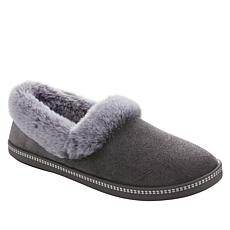 """As Is"" Skechers Night Cap Plush Faux Fur Slipper"