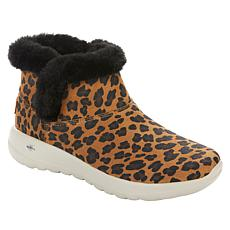 """As Is"" Skechers On the Go Joy Bundled Up Printed Bootie"