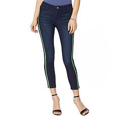 """""""As Is"""" Skinnygirl Side Stripe Skinny Jean"""