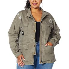 """As Is"" Skinnygirl Sustained Anorak Jacket"