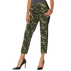 """""""As Is"""" Skinnygirl Utility Jogger with Contrast Trim"""