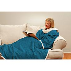 """""""As Is"""" Snuggie Blanket with Oversized Sleeves"""