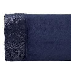 """As Is"" Soft & Cozy Glitter Hem Plush Sheet Set"