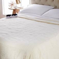 """""""As Is"""" Soft & Cozy Heated Plush Blanket - King"""