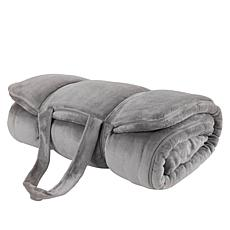 """As Is"" Soft & Cozy Sherpa Sleeping Bag"