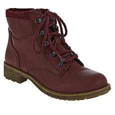 """""""As Is"""" Sporto® Brandy Water-Resistant Lace-Up Hiker Bootie"""