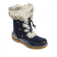"""As Is"" Sporto® Minor Waterproof Suede Mid-Calf Boot with Faux Fur ..."