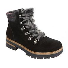 """""""As Is"""" Sporto® Ranger Lace-Up Suede Hiking Boot"""
