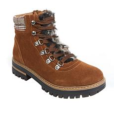 """As Is"" Sporto® Ranger Lace-Up Suede Hiking Boot"