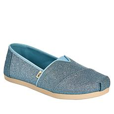 """As Is"" TOMS Glitter Classics Alpargata Slip-On"