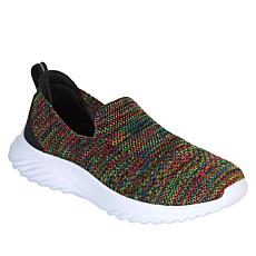 """As Is"" Tony Little Cheeks® Fit Body Shape Knit™ Slip-On Sneaker"