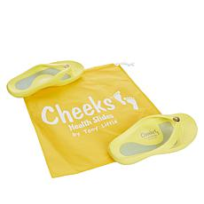 """As Is"" Tony Little Cheeks Health Sandal with Gel Footbed"