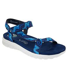 """As Is"" Tony Little Cheeks® Sport Sandal with Gel Energy Pad"