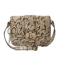 """""""As Is"""" Vince Camuto Caia Leather Flap Crossbody"""