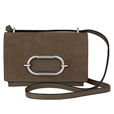 """""""As Is"""" Vince Camuto Wes Leather Crossbody Bag"""