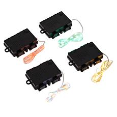 """""""As Is"""" Winter Lane 10' Micro LED String Lights with 9-Function Box..."""