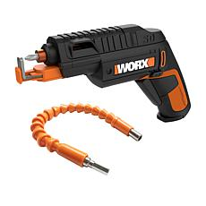 """As Is"" Worx 4-Volt Driver with Flex Extender and Screw Holder"