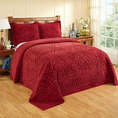Ashton 100% Cotton Tufted Chenille Bedspread - Full
