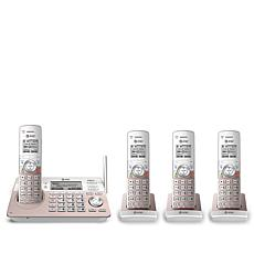 AT&T 4-Handset Cordless Phone System with Smart Call Blocker