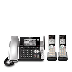 AT&T DECT 6.0 Corded/Cordless Phone System w/2 Handsets