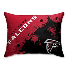 quality design 0eb0e 565c8 Atlanta Falcons Splatter Print Plush 20x26
