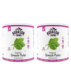 Augason Farms 2-pack Dehydrated Spinach Flakes